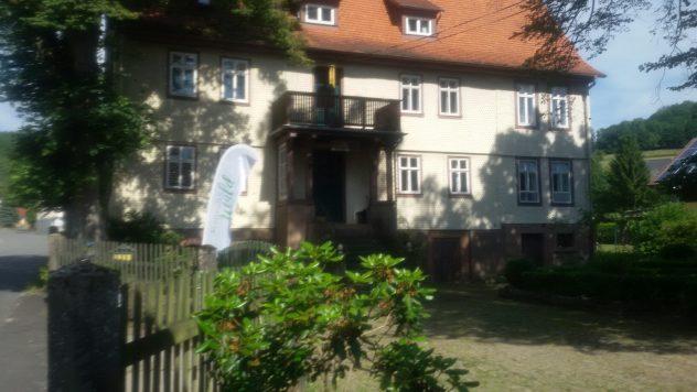 Waldbaden/Waldtherapie im alten Forstamt in Flörsbachtal